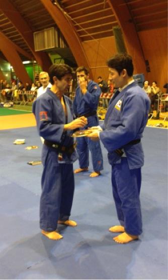 Il sindaco di Bardonecchia Borgis con Jeon Ki Young