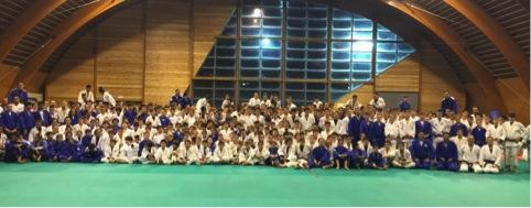 I partecipanti al Natale Judo Camp 2015